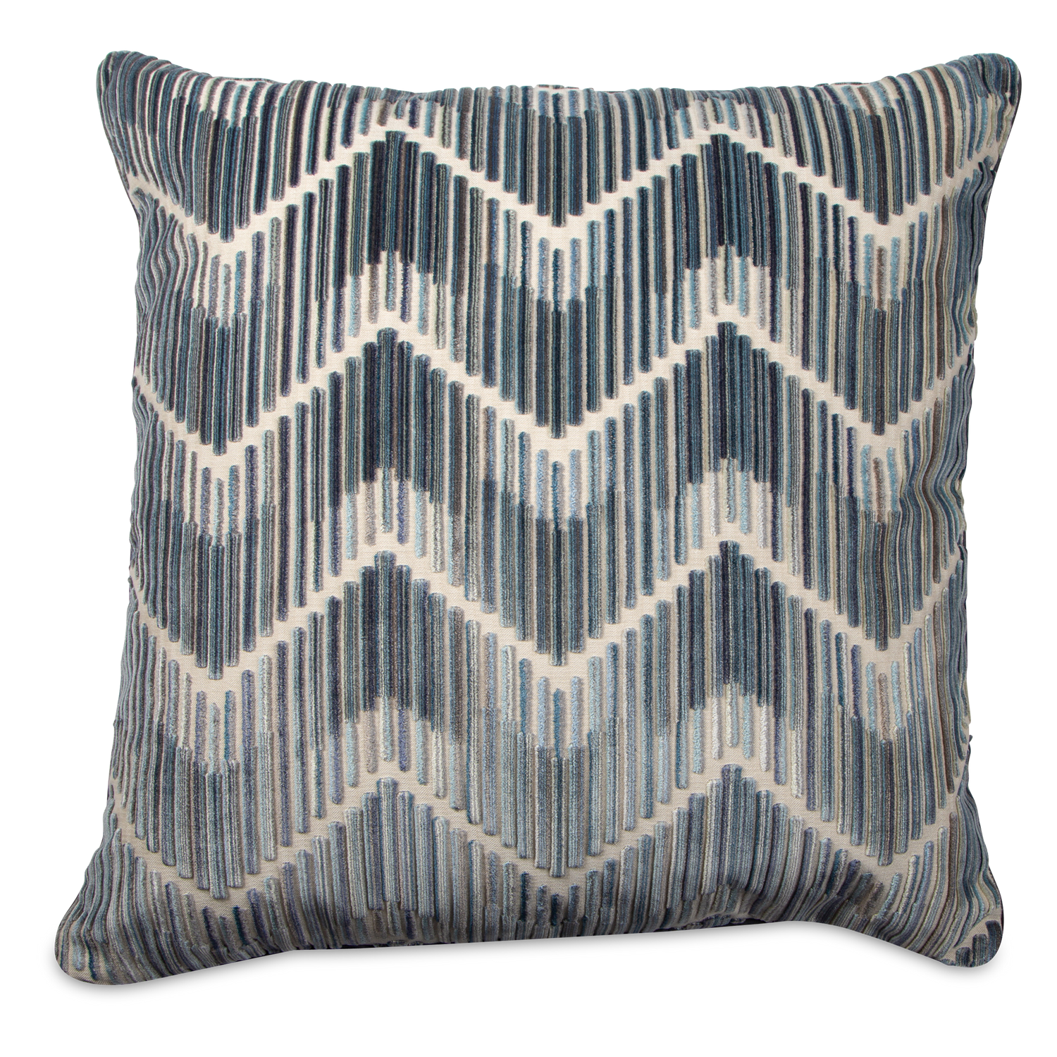 Velvet Zigzag Pillow
