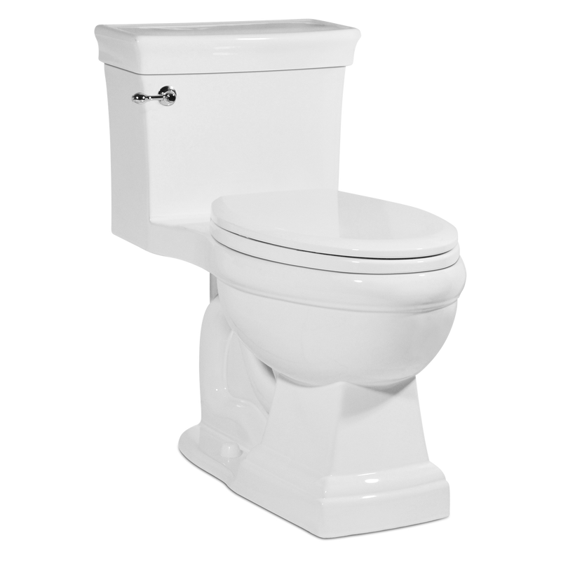 Asher Toilet - White