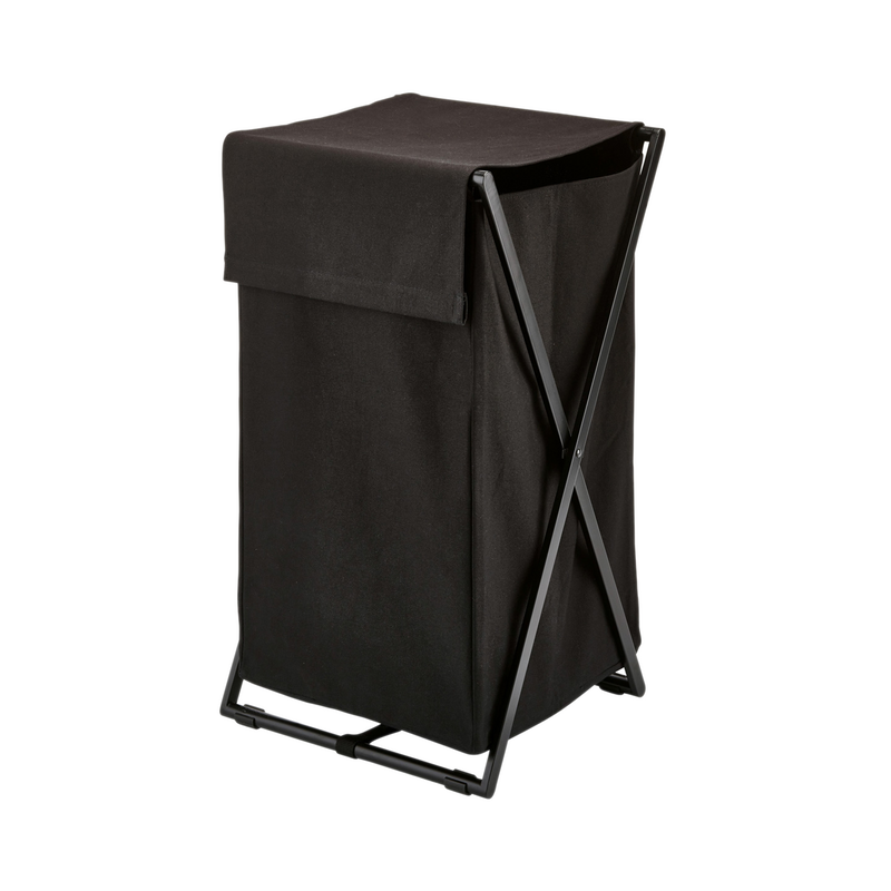 Metal Cross Laundry Bin