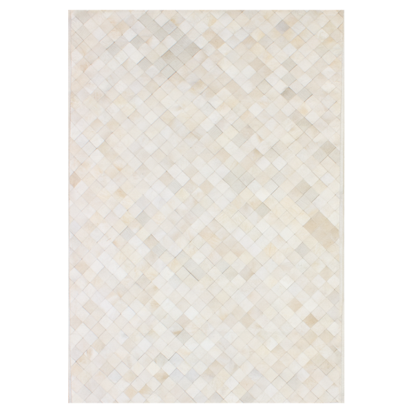 Small Squares Ivory