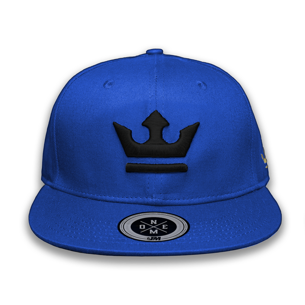 Gorra THE KING Blue/Black - 1M Clothing Co.