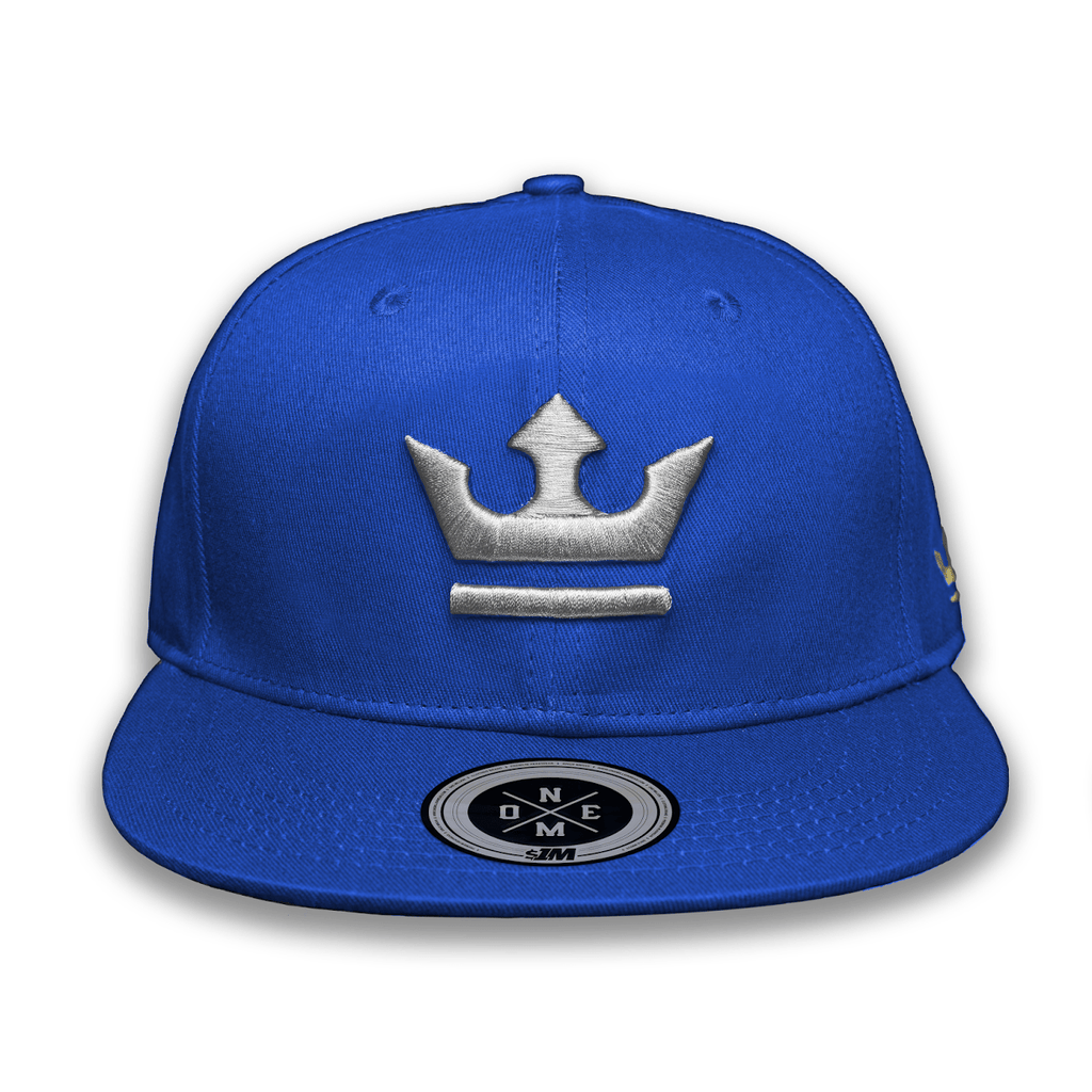 Gorra THE KING Blue/Gray - 1M Clothing Co.