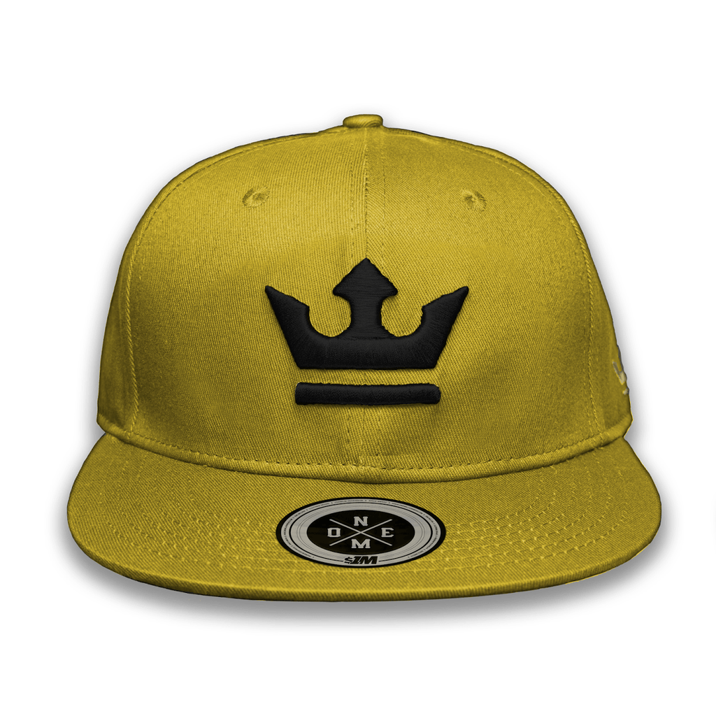 Gorra THE KING Gold/Black - 1M Clothing Co.