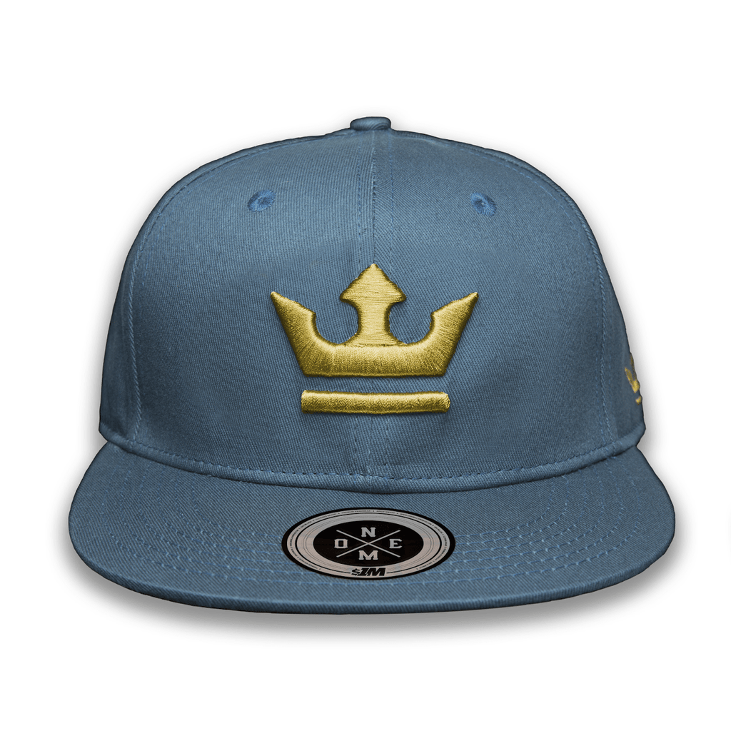 Gorra THE KING Turquoise/Gold - 1M Clothing Co.