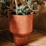 "Load image into Gallery viewer, 4"" Terrazzo Planter"
