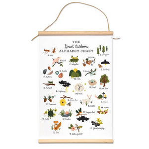 Great Outdoors Alphabet Canvas Banner