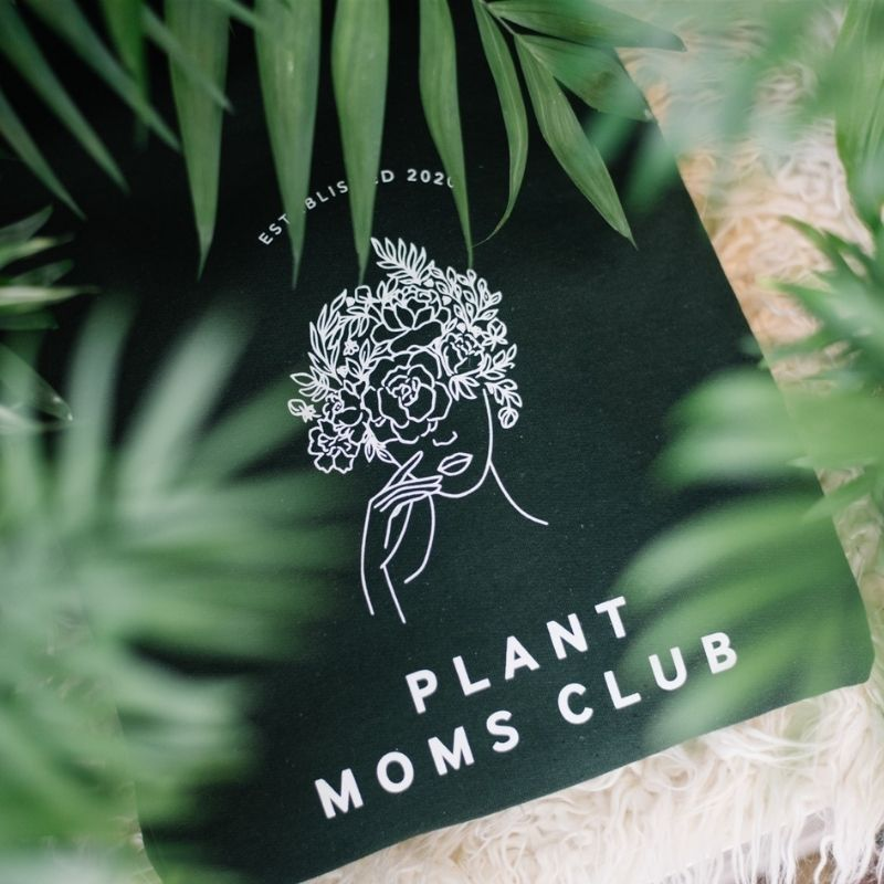 The Plant Moms Club Sweater