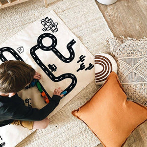 Canvas Floor Mat