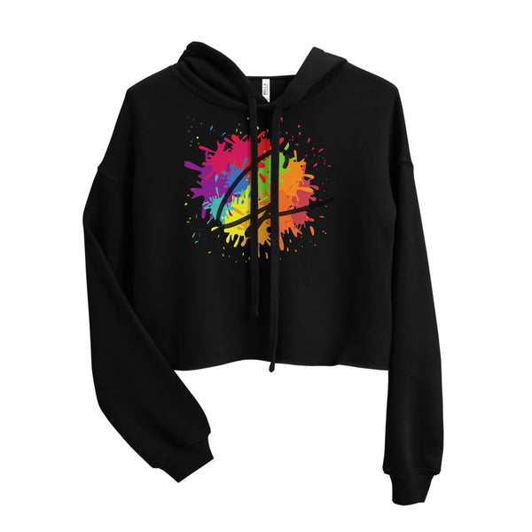'Signature G' Ladies' Cropped Hoodie