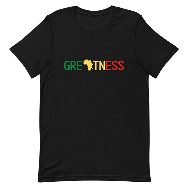 'Greatness' African Themed Unisex T-Shirt
