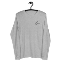 'G' Embroidered Unisex Long Sleeve T-Shirt