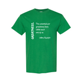 Quote 'Wilma Rudolph' Unisex T-Shirt