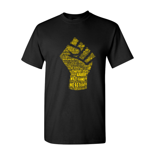 'Gold HBCU Power' T-Shirt