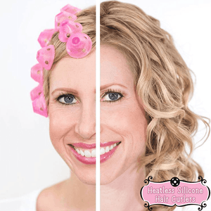 Heatless Silicone Hair Curlers (10PCS) - makegoodies