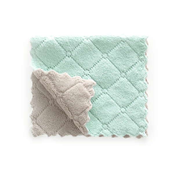Super Absorbent Microfiber Dishcloth (2 PCS)