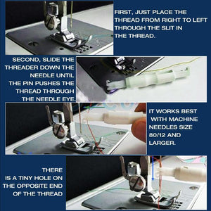 Efficient Sewing Machine Threader