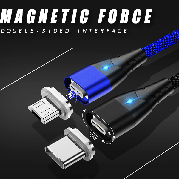 Magnetic Flash Charging & Data Cable