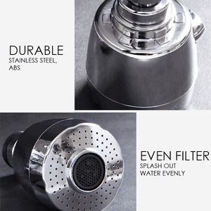 Stainless Steel 360° Rotating Tap Head