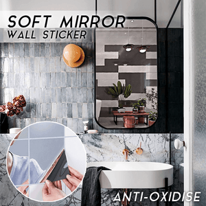 Soft Mirror Wall Sticker