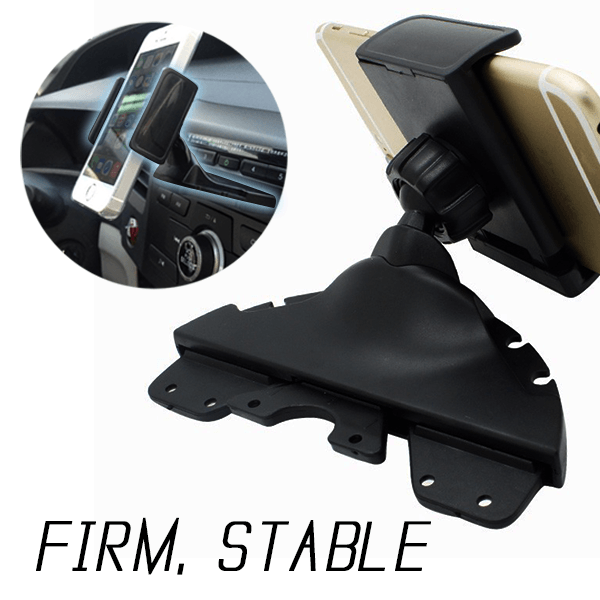 Car CD Slot Phone Holder
