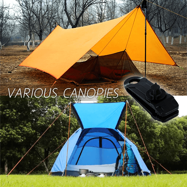 Camping Tent Powerful Clamp (6PCS)