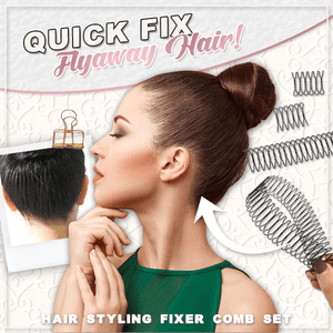 Hair Styling Fixer Comb (Set of 3)