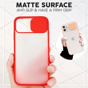 Slide Camera Protection Case For iPhone