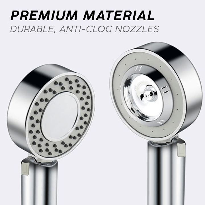 High Pressure Double-Sided Shower Head