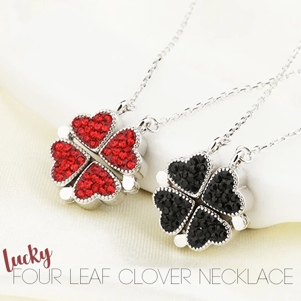 Lucky Four Leaf Clover Necklace