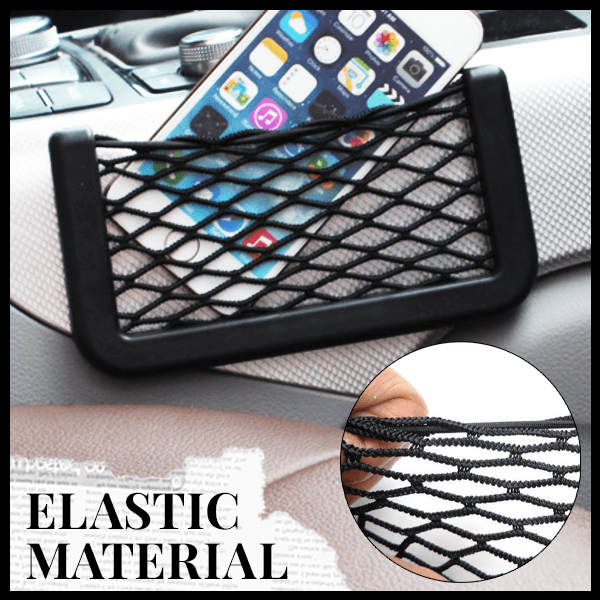 Car Net Card Pocket