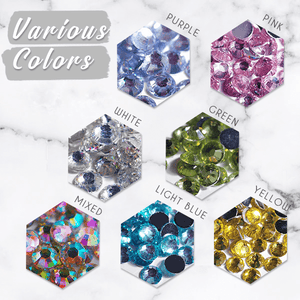 Multi-Colors Decorative Crystals Kit