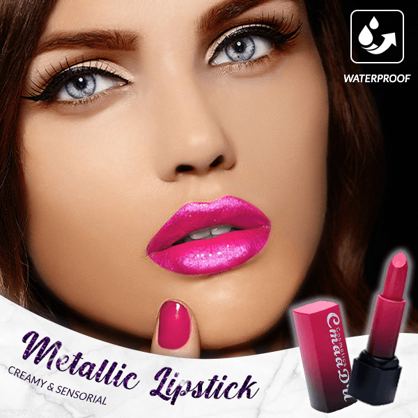 Metallic Waterproof Lipstick