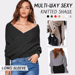 Multi-way Sexy Knitted Shawl