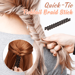 Quick-Tie Fishtail Braid Stick (3 PCS)