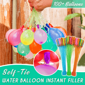 Self-Tie Water Balloon Instant Filler