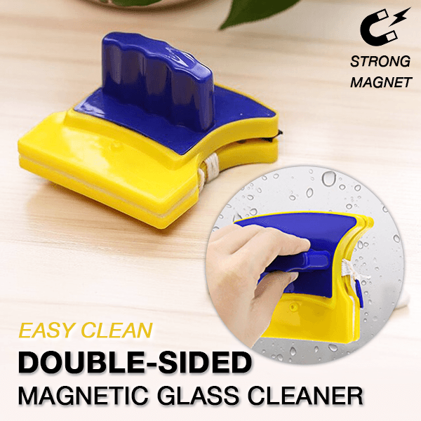 Double-sided Magnetic Glass Cleaner