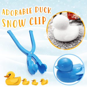 Adorable Snow Duck Clip