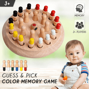 Guess & Pick Color Memory Game