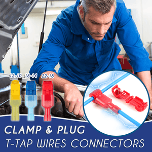 Clamp & Plug T-Tap Wires Conntectors (120 PCS)