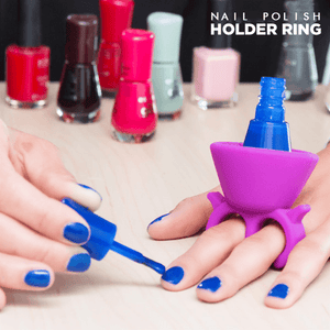 Nail Polish Holder Ring - makegoodies
