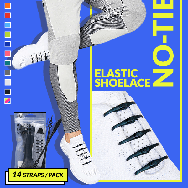 Elastic No-Tie Shoelace (For ALL Ages)