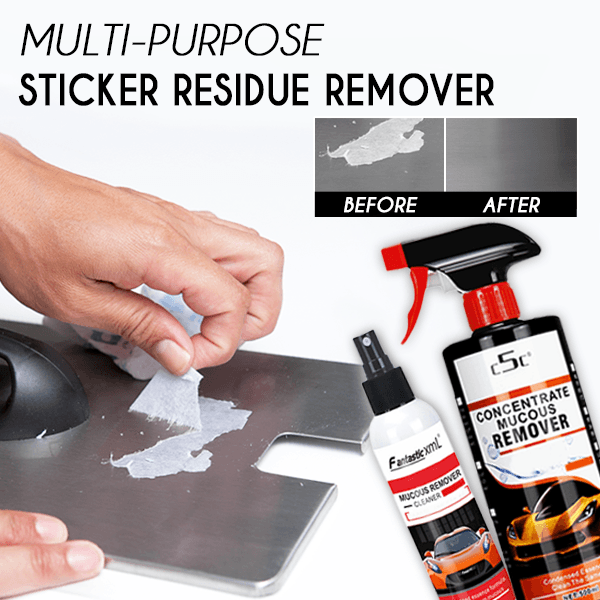 Multi-purpose Sticker Residue Remover