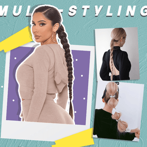 Clip-In Sleek Ponytail Extension