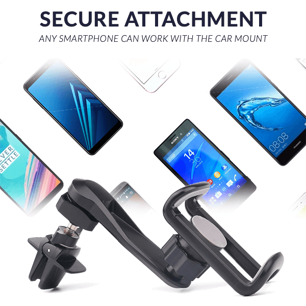 Easy-Hold Car Phone Mount