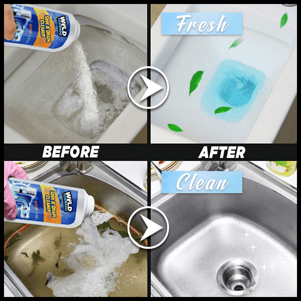 Multi-purposes Sink & Drain Cleaner