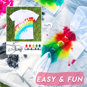 Easy & Quick Tie-Dye Color