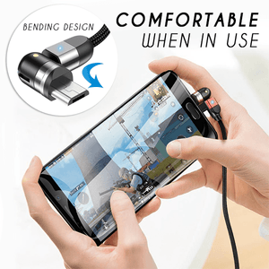Double 360° Magnetic Cable (50% OFF)