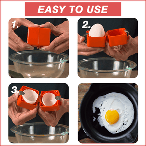 Fast & Easy Cubic Egg Cracker