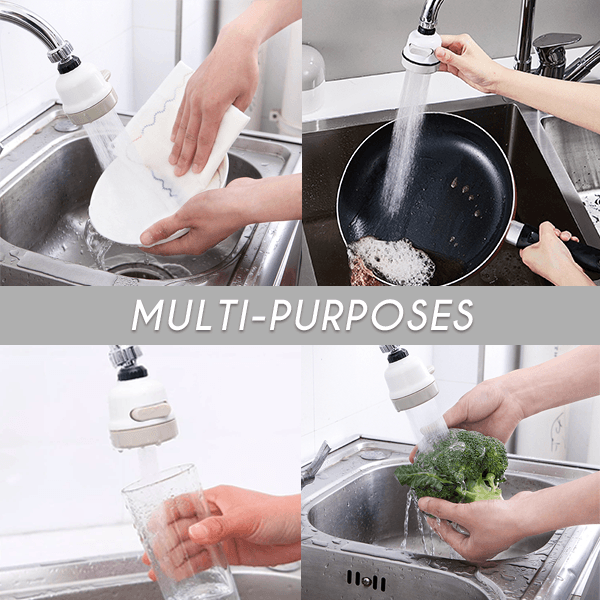 360° Rotation Multi-Use Sink Faucet