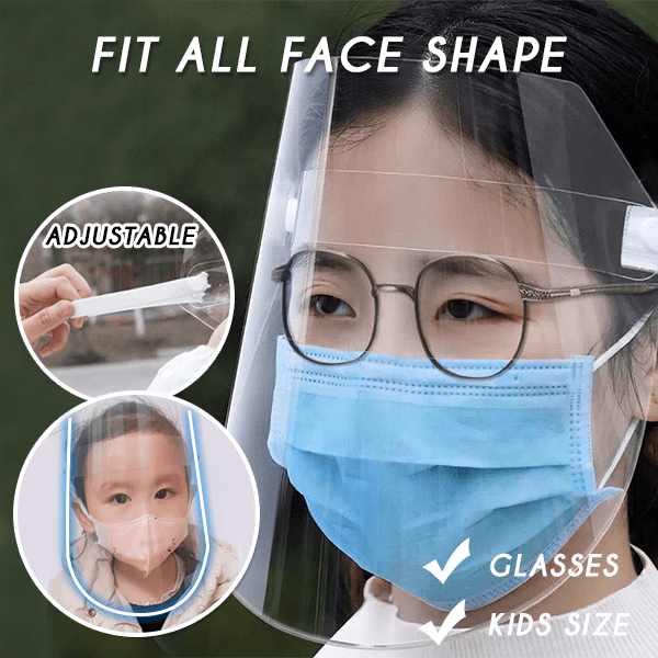Face-Cover Protective Shield